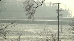 Cold Day Stock Footage