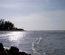 Sanibel Waves Stock Footage
