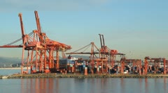 Port of Vancouver. Stock Footage