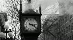 Steam clock. Stock Footage