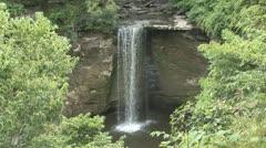 Woodland Waterfall 5 Stock Footage