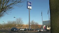 The Centre MK,  Milton Keynes Stock Footage