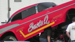 DRAGRACING-066 SUSIE Q Stock Footage