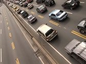 Traffic in the Highway Stock Footage