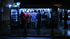 Instanbul Kiosk Small Stock Footage