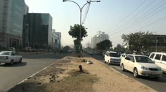 Gurgaon-Time Lapse-Traffic Stock Footage