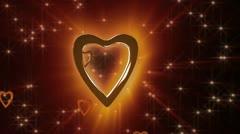 Chocolate Heart Stock Footage
