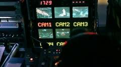 Video directorial control VJ Stock Footage