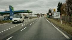 Austria road Stock Footage