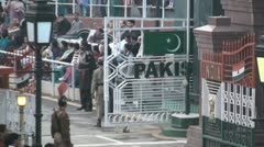 Wagah Border Stock Footage