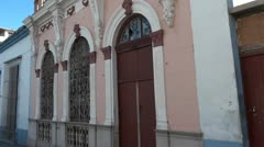 Cuba Buildings And Street Life Stock Footage