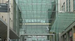 Drake Circus Shopping Centre, Plymouth Stock Footage