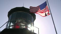 Stock Video Footage of Cape Mears Lighthouse PST 0410 01