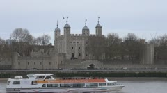 Tower of London Stock Footage