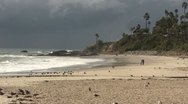 Stock Video Footage of LAGUNABEACH-0034 SUN AND CLOUDS