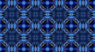 Blue - Kaleidoscop - Square Stock Footage