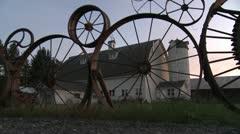 Palouse Wheel Farm DMS 0029 01 - stock footage