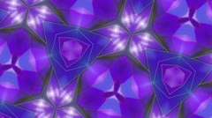 Purple - Kaleidoscop - Rotate - Macro Stock Footage