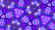 Stock Video Footage of Purple - Kaleidoscop - Rotate