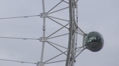 Details of London Eye Stock Footage