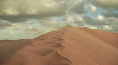 wind storm in the desert unedited.mp4 - stock footage