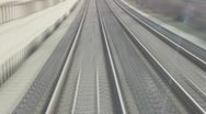 Stock Video Footage of Speed railroads