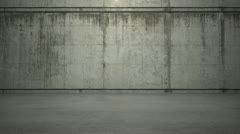 Concrete Stand Stock Footage