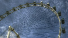 Singapore Flyer Stock Footage