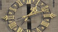 Stock Video Footage of Beautiful ancient clock