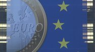 Stock Video Footage of Euro symbol