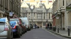 King Edward Street, Oxford Stock Footage