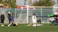 Stock Video Footage of Girls Soccer Game HD