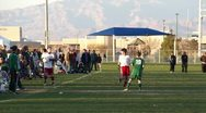 Stock Video Footage of Youth Soccer Football Game HD