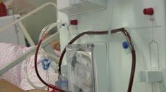 Hemodialysis - stock footage