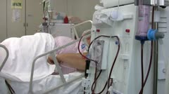 Hemodialysis - stock footage