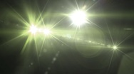 Warm Flash flare 720 Stock Footage