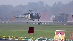 Indian Army in Action Stock Footage