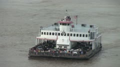 Canal Street Ferry - New Orleans Stock Footage