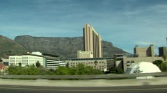 Cape town drive past Stock Footage