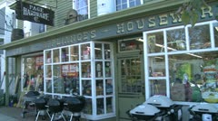 Housewares and Appliance Store (1 of 2) Stock Footage