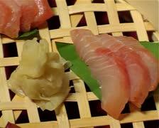 Plate of sashimi-pan. Stock Footage