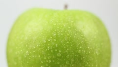 Apple - Wet Turning - Top Part Stock Footage