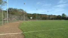 A sports field Stock Footage