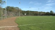 Stock Video Footage of A sports field