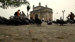 Gateway Of India-Mumbai Stock Footage