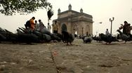 Stock Video Footage of Gateway Of India-Mumbai