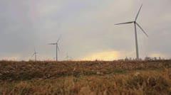 Wind Turbine Medium 29.97 1080 - stock footage