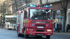 Fire Engine - stock footage