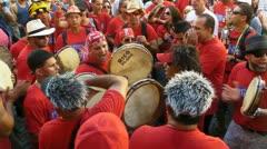 San Juan - San Sebastian Festival - Puerto Rico Jan 2012-2 - stock footage