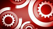 Abstract gear industry 2 Stock Footage